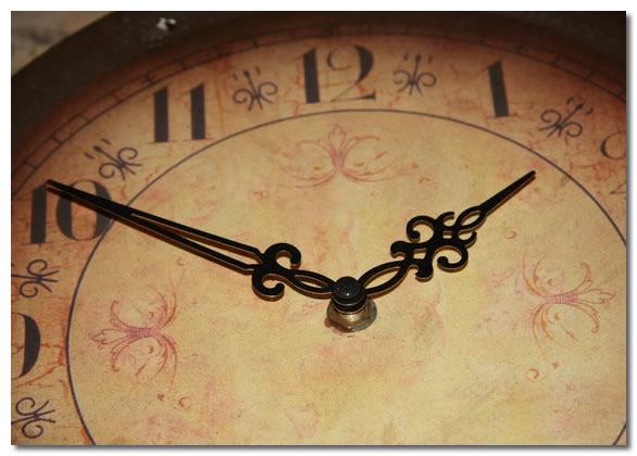 Deer Antler Clock